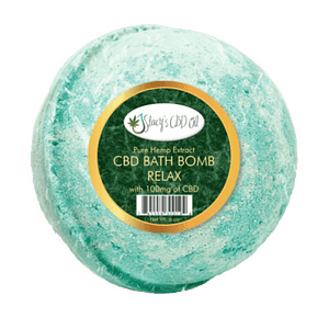 CBD Relax Bath Bombs