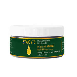 cbd topicals cream, Intensive Healing Pain Rub, Emu oil